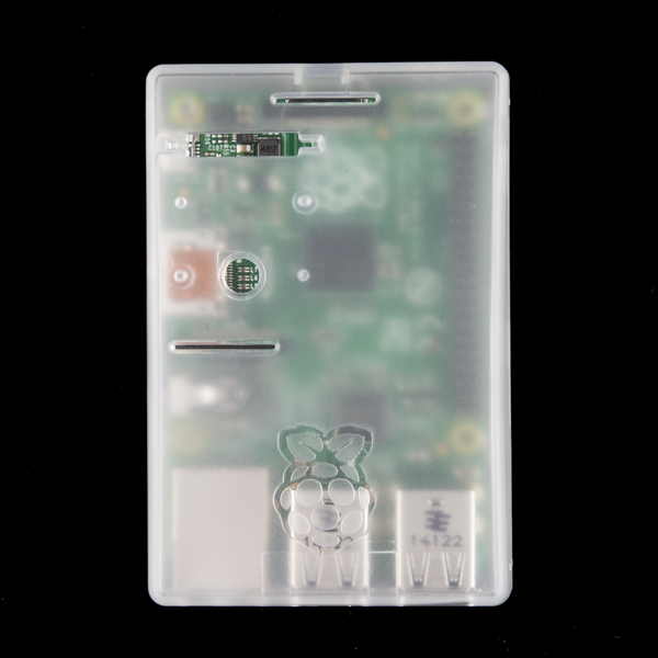 Raspberry Pi Enclosure - Translucent (RPi3, RPi2, B+)
