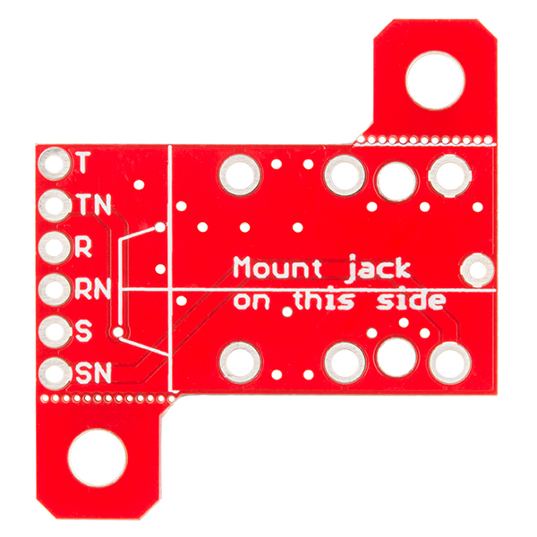 "SparkFun TRS Jack Breakout - 1/4"" Stereo"
