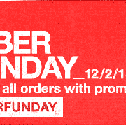 Cyber Monday Is Upon Us!