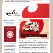 The SparkFun Newsletter