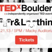 TEDx Boulder 2013