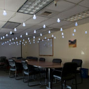 Engineering Roundtable - Interactive Hanging LED Array