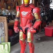 Animatronic Iron Man MKIII Suit