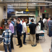 Skyline High School's Electronics Class Poster Day