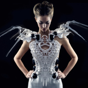 Edison-Powered Spider Dress