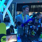 CES Day 2: 3D Printed Prosthetics, Arduino Zero, and Singing Robots