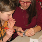 Soldering Workshop at Craftsbury Public Library