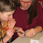 Soldering Workshop at Craftsbury Public Library