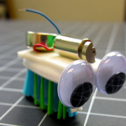 Build Your Own Bristlebot on today's SparkFun Live!