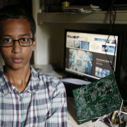 Standing with Ahmed, and all young makers