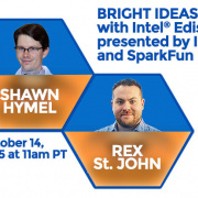"""Bright Ideas with Intel Edison"" is today!"