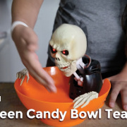 Halloween candy bowl teardown