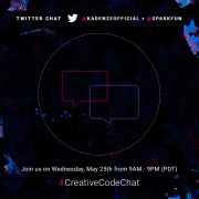 #CreativeCodeChat: Today's the day!