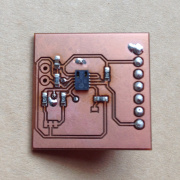 Pasting and Reflowing Homebrew PCBs