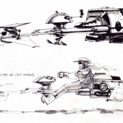 Star Wars Speeder Bikes