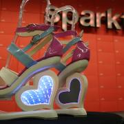 时尚黑客:无限镜心高跟鞋