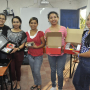 Student Group Brings Electronics to Sister School in Nicaragua