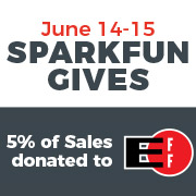 SparkFun Gives Day Starts Tomorrow