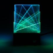 DIY桌面灯雕塑