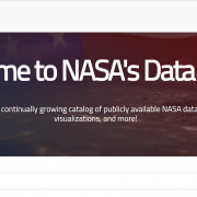 Fun with NASA's Open Data Portal