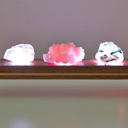 Underlit Crystal Display