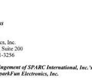 SparkFun Gets a Cease and Desist Letter