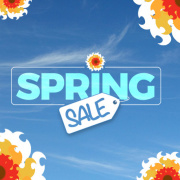 Spring Sale - Now in Session!