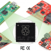 Rasperry Pi Pico and SparkFun's RP2040 Boards