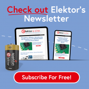 News(letter) From our Friends at Elektor