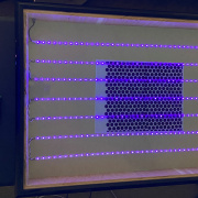 MicroMod-Controlled UV Lightbox for Exposing Blueprints and Burning Silkscreens