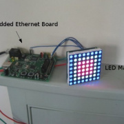 Remote LED Matrix