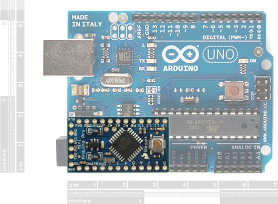 Using the arduino pro mini v learn sparkfun