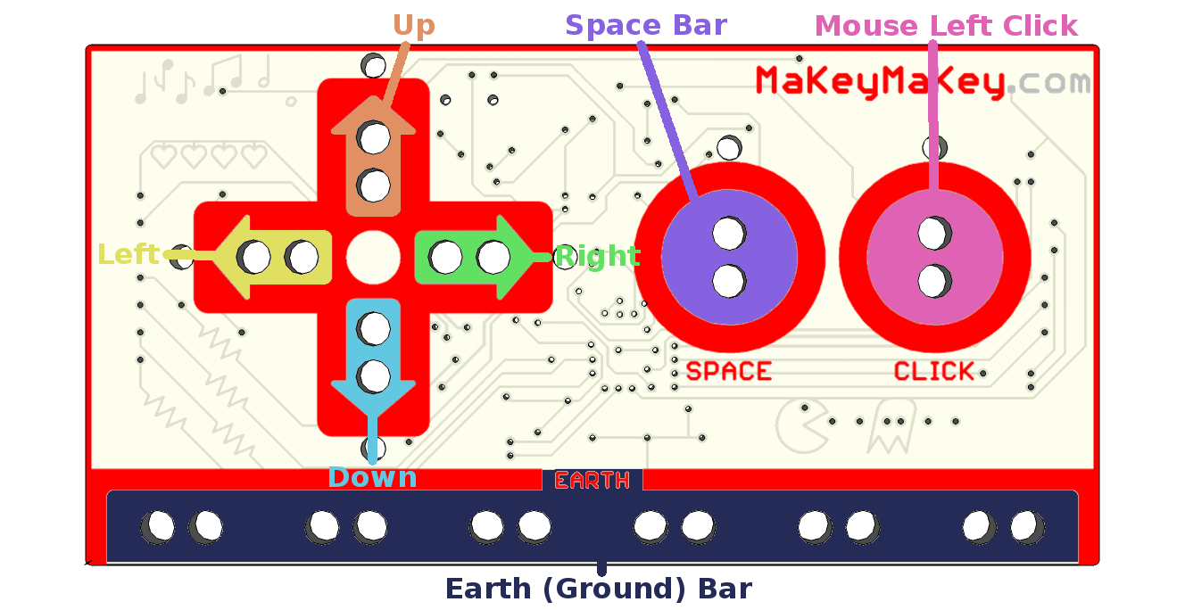 Makey Quickstart Guide Browse Lighting Diagrams That Use A 3 Way Switch Top Of Board Explained