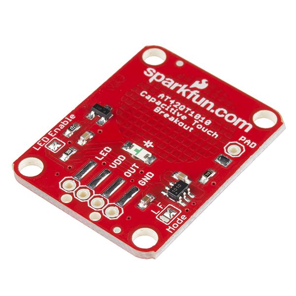 AT42QT1010 Breakout Board