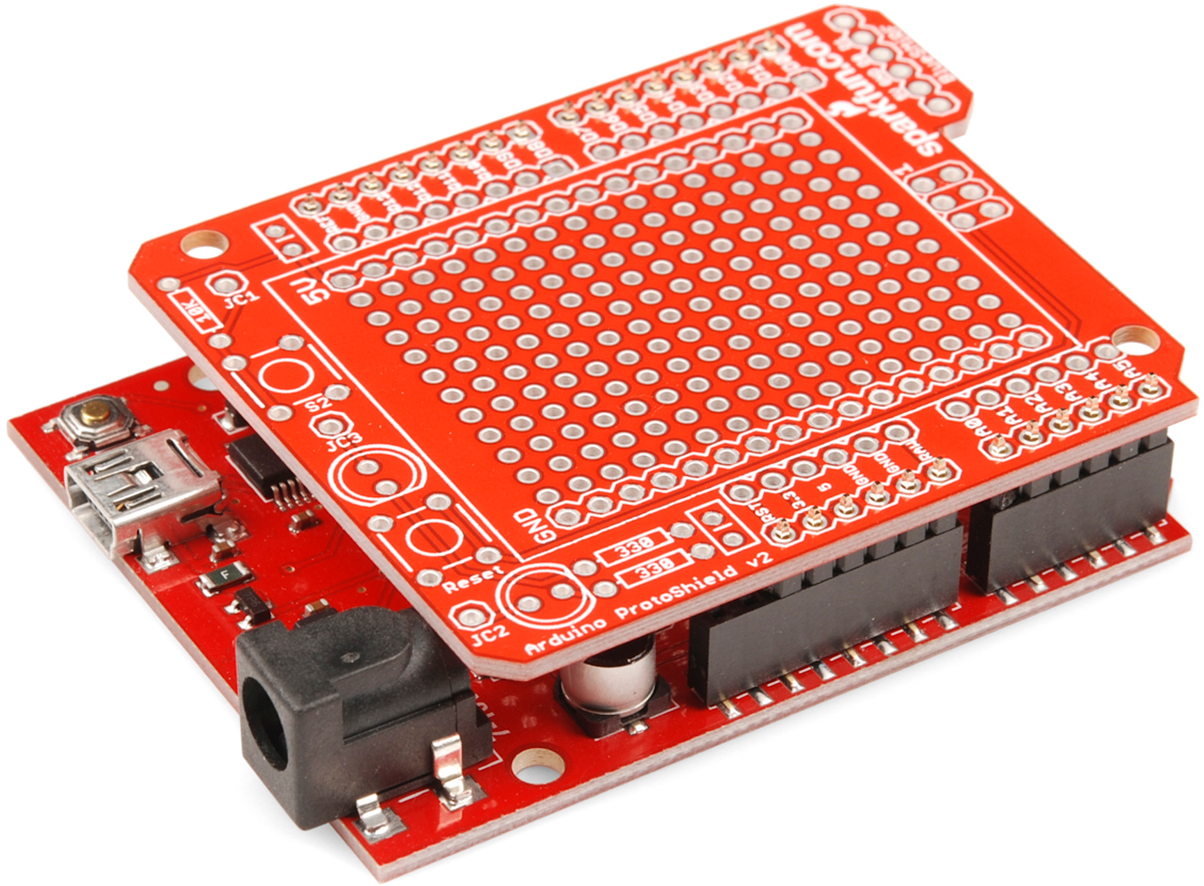 Arduino Shields Wireless Sd Shield Schematic Inserted Into Jig
