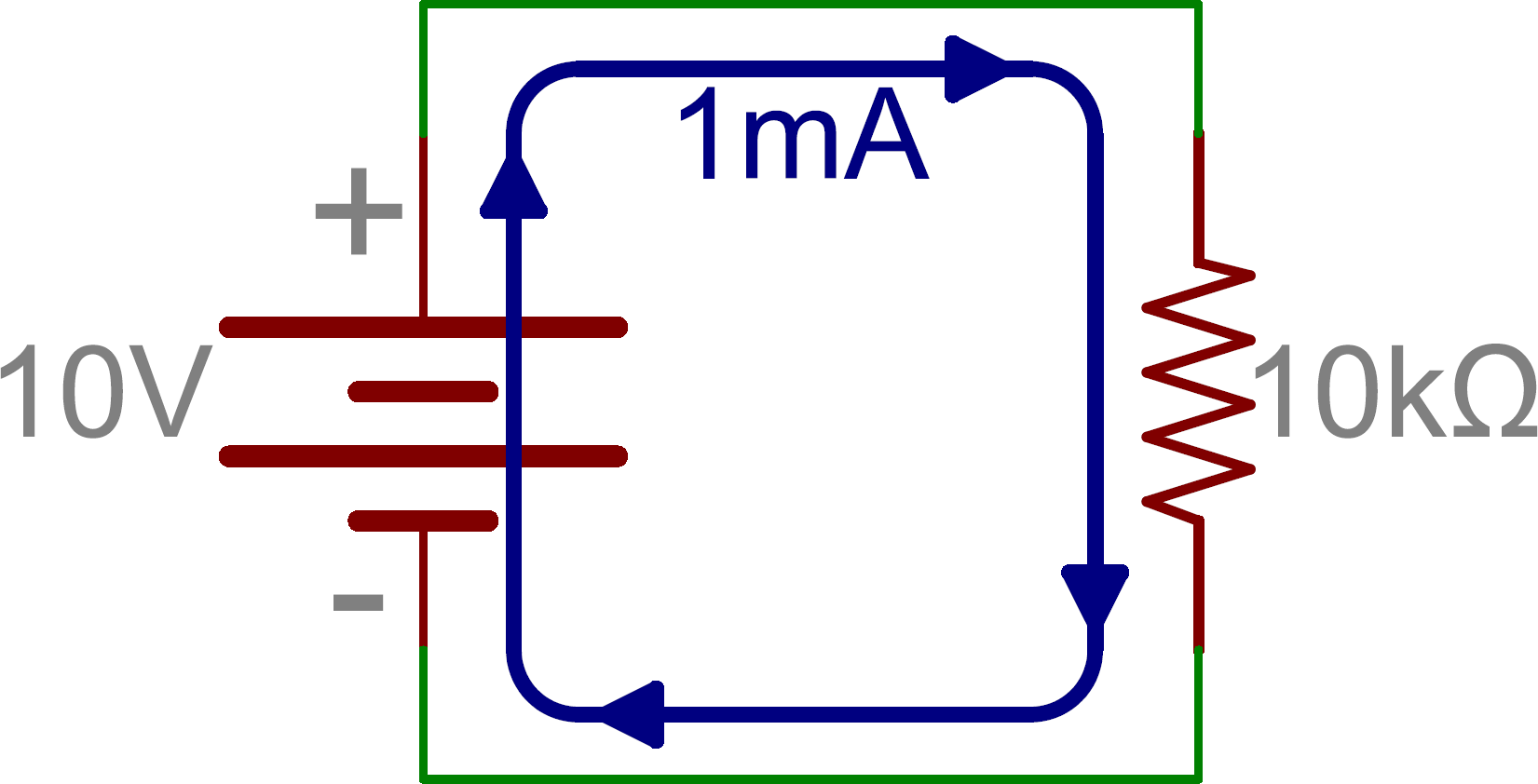 Series And Parallel Circuits Wiring In Leds Schematic Single Resistor With Battery