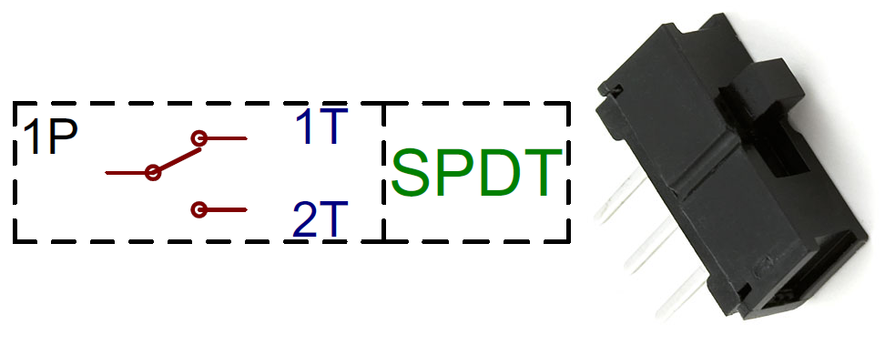 Spdt Switch Wiring Diagram : Switch basics learn sparkfun
