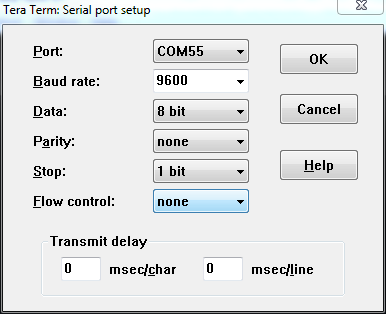 Serial terminal basics - How to determine the baud rate of a serial port ...