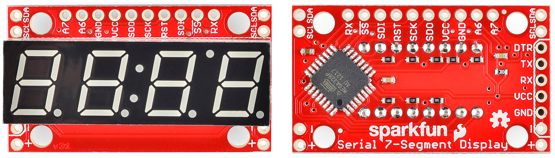 Using the Serial 7-Segment Display - learn sparkfun com