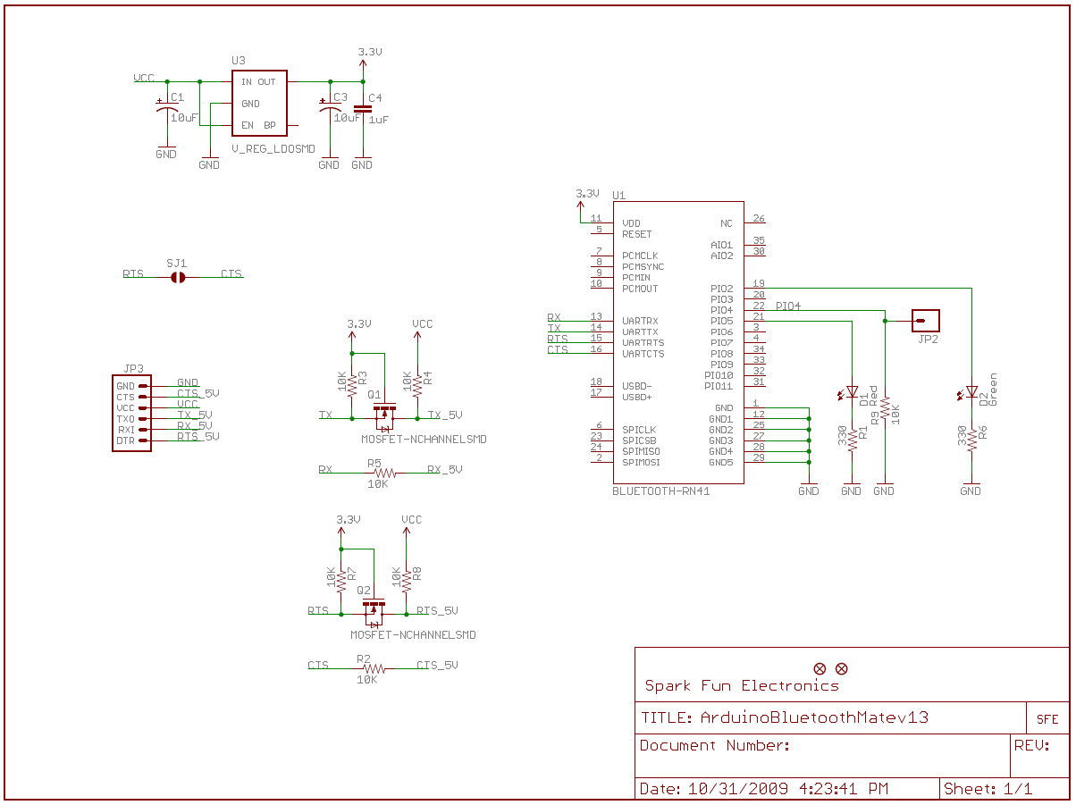 Using The Bluesmirf Serial Cable Pinout In Addition 9 Pin To 25 Rs232 Diagram Bluetooth Mate Silver Schematic