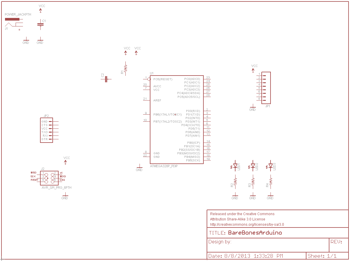 Using Eagle Schematic Pickit 3 Circuit Diagram With All Parts Added