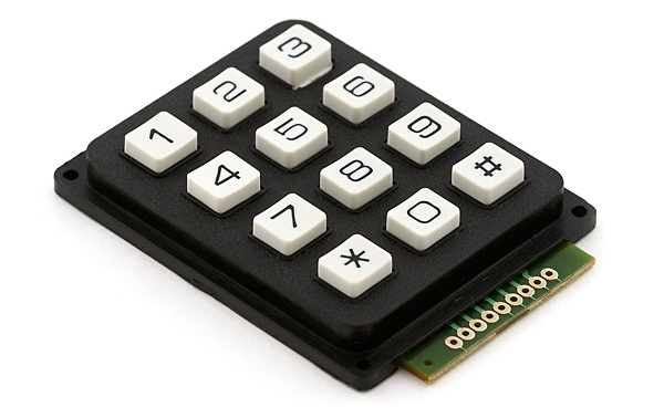 12-button keypad