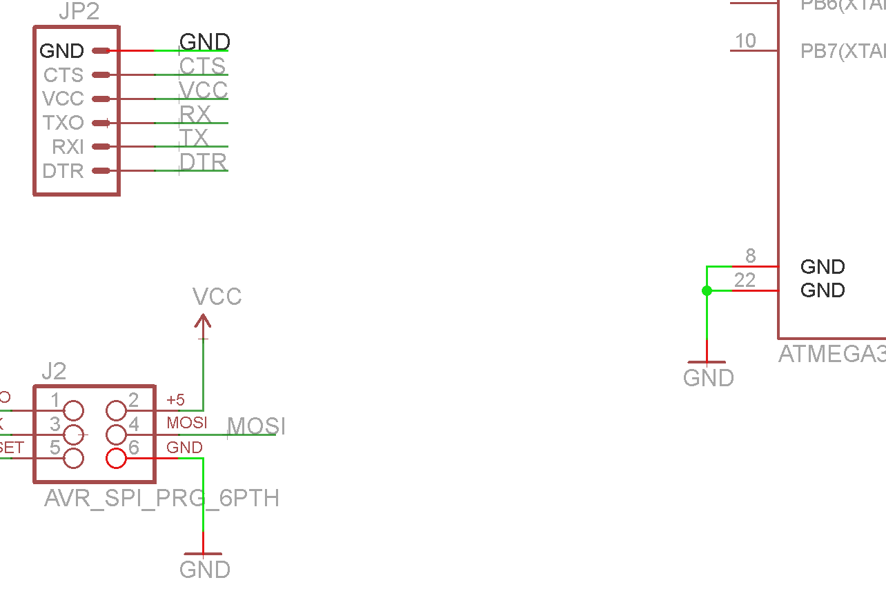 Using Eagle Schematic 4 Pin Power Connector Wiring Diagram Showing A Gnd Trace