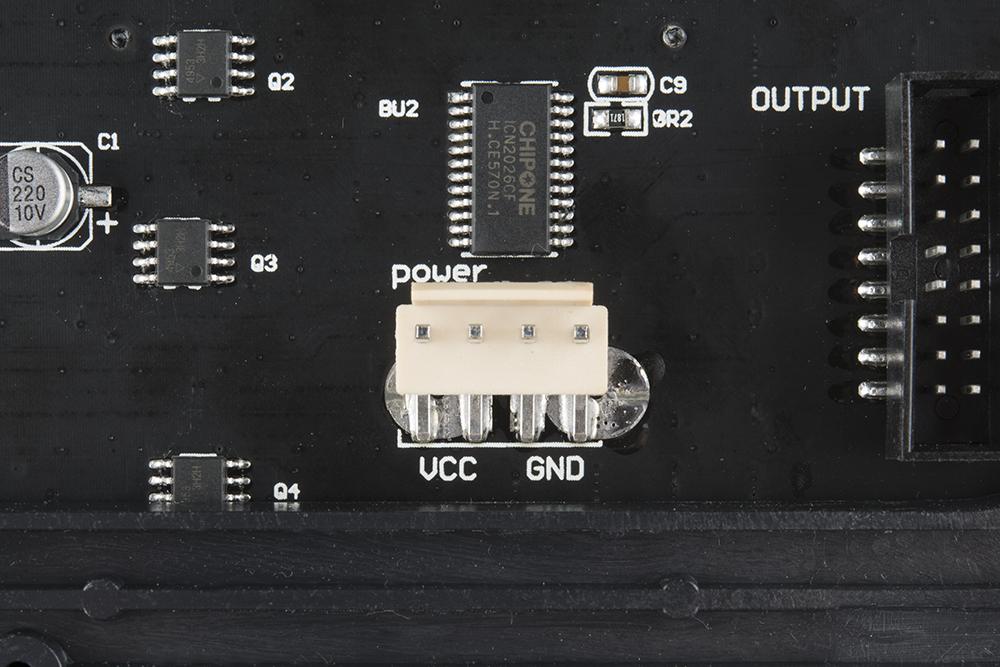 Polarized Power Connector