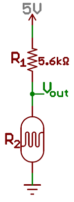 Photocell interface schematic