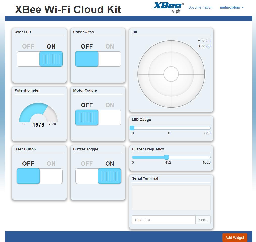 XBee Cloud Kit App