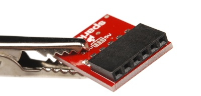 Right angle female header pin connector