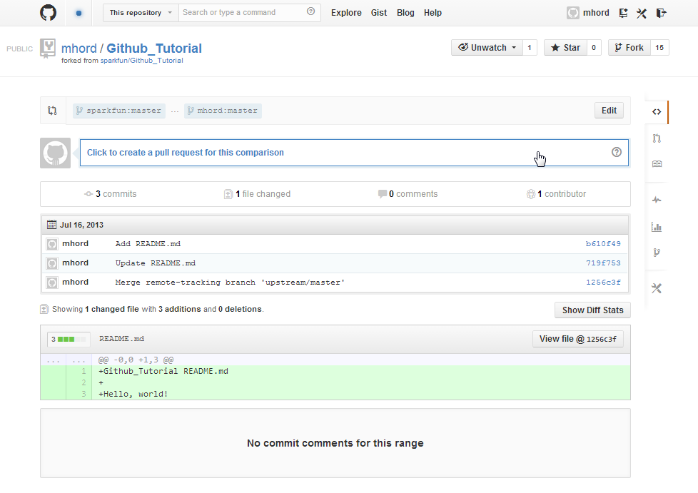 Using GitHub to Share with SparkFun - learn sparkfun com