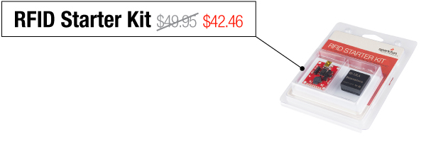RFID Starter Kit - Was $49.95, now $42.46