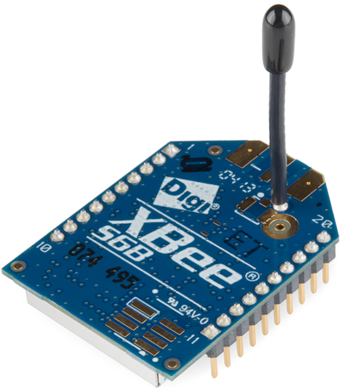 XBee WiFi with Whip Antenna
